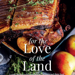 Cover image for the Love of the Land recipe book
