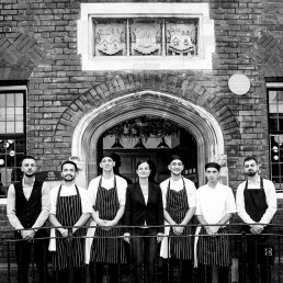 Team shot of staff at Per Tutti, Berkhamstead