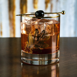 Drinks photography - Balsamic & Cherry Shrub